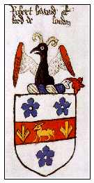 Armorial Bearings granted to Robert Lord alias
